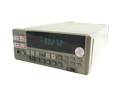 Fluke 8842a Multimeter Portable Bench-type 5.5 Digital Voltmeter Set-up Network