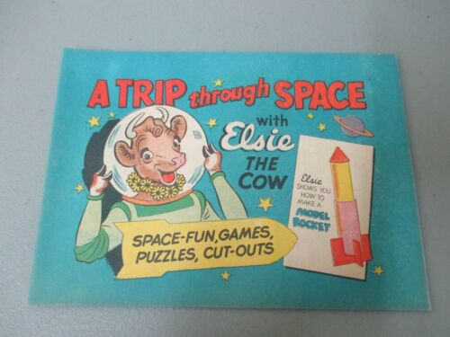 Elsie The Cow Trip Through Space Comic Book