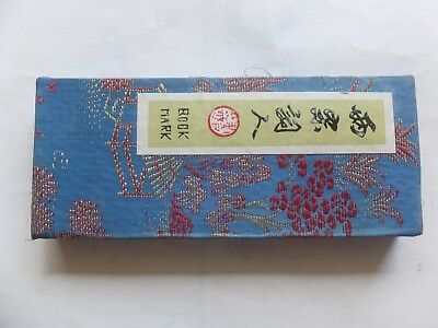 Genuine Vintage  Book Marks Tags Asian