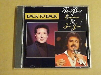 CD / THE BEST OF ENGELBERT & TOM JONES - BACK TO BACK