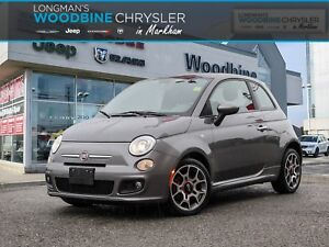 2012 Fiat 500 Sport/Sunroof