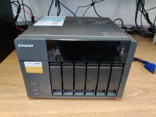 QNAP Turbo NAS TS-653A w/ 4K HDMI USB 3.0 Ubuntu - 6x2TB HDDs 12TB j