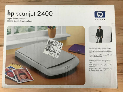 HP SCANJET 2400 FLATBED SCANNER  - Brand New/Never Opened