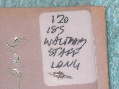 Vintage Waltham 18s long Balance Staff pocket watch