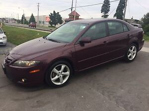 2006 Mazda 6 GS Automatic 4 Cylinder