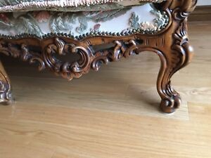 French Provincial Sofa and Sofa Chairs