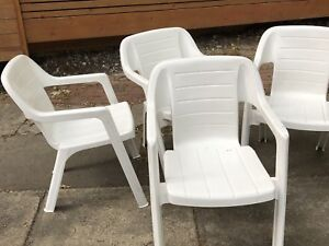 Quality Patio Chairs -4 in total