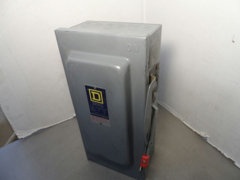 Square D Safety Switch HU-362 Enclosure Only