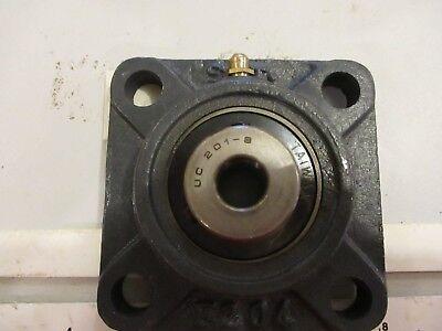 Ucf 201-8 Bearing....4-bolt Flange.....12.....