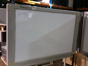 Panasonic Panaboard electric whiteboard on wheels 4 screens offic Lansvale Liverpool Area Preview