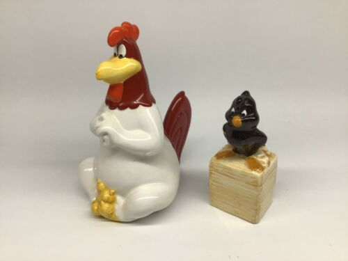 Foghorn Leghorn and Henery Hawk Looney Tunes Salt and Pepper Shakers