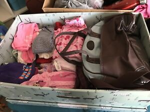 Baby girl clothes, toys etc.