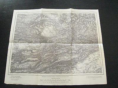 alte Landkarte Karte des Deutschen Reiches Nr.669 Oltingen von 1908