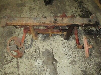 Farmall Ih A Super A Tractor Wide Front With Bumper