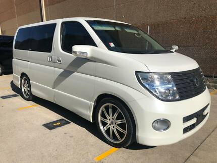 2007 Nissan Elgrand E51 Black Leather Limited Blacktown Blacktown Area Preview
