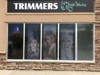 Trimmers Hair Studio hiring full/part time stylist