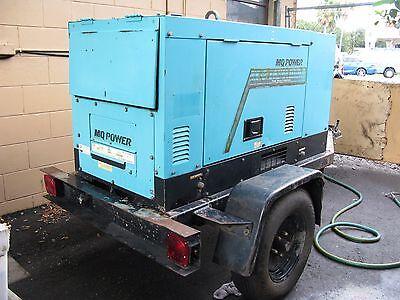 Portable Multiquip Mq Power Duelweld Dc Welder 14kw Diesel Generator Blw-400sw