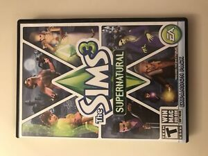 Sims 3 super natural expansion pack (PC)