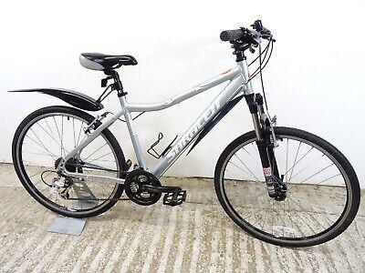 "Saracen Zena Ladies Girls Hybrid Mountain Gravel Bike 18"" Md Alloy Used VGC"