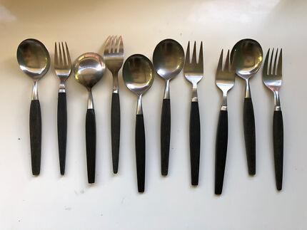 Vintage/retro spare cutlery - made in Japan