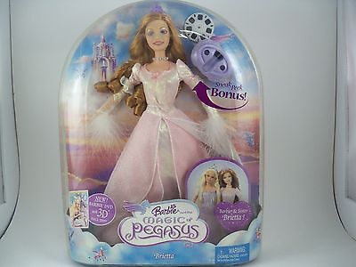 Barbie Doll Magic of Pegasus Princess Brietta NEW NRFB Mattel 2005