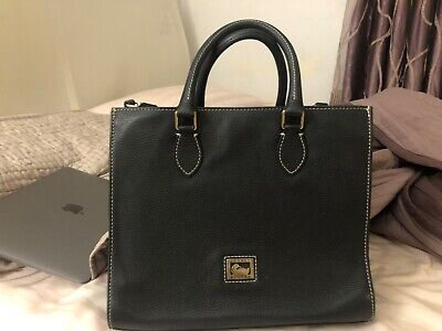 dooney bourke handbags black leather