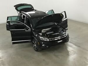 2017 Volkswagen Tiguan Highline R-Line GPS*Cuir*Toit Pano*Mags 2