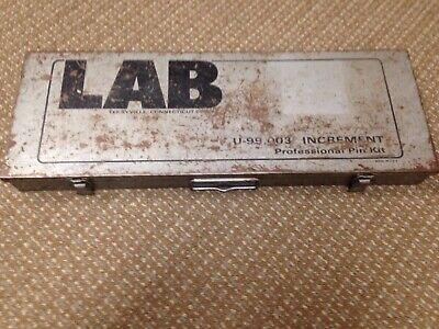 Lab .003 Increment Professional Pin Kit Top Shelf M1
