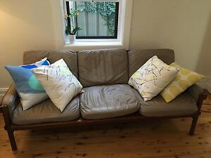 Rare Danish Deluxe 3 piece lounge suite Marrickville Marrickville Area Preview