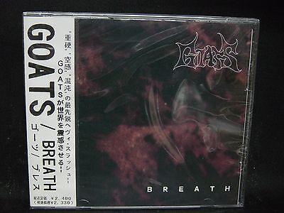 GOATS Breath JAPAN CD Unholy Grave Voidd Cemment Japanese Technical Death Metal