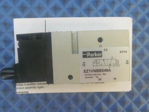 NOS Parker Solenoid Valve EZ1VNBB549A