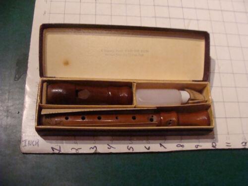 Johannes Adler-Magnamusic RECORDER in box, C-Soprano Barogue fingering