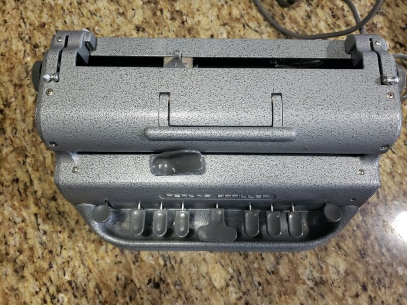 Perkins Electric Brailler , Low Vision, Blindness, Braille Machine, UL, CSA