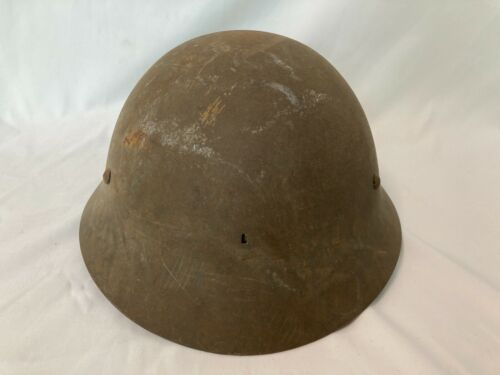 Japanese antique Original WW2 Imperial Japanese Army iron Helmet JA