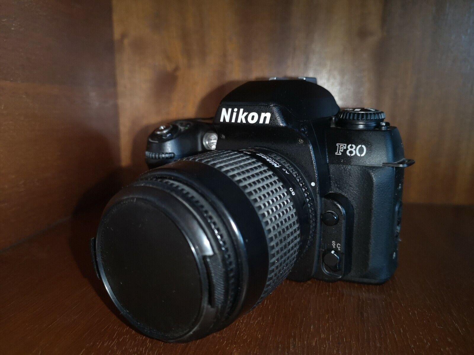 Nikon F80 F 80 Spiegelreflexkamera analog gebraucht mit Objektiv
