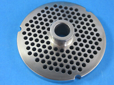 32 X 14 Meat Grinder Plate W Hub Stainless Fits Hobart Biro Lem More