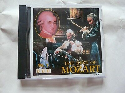 Unknown Artist ‎– The Best Of Mozart Vol. 1 CD Album LDMI ‎– (Best Unknown Opera Musics)