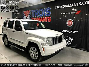 2011 Jeep Liberty LIMITED*CUIR*TOIT*HITCH*4X4*