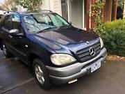 2001 Mercedes-Benz ML320 Luxury SUV. Mornington Mornington Peninsula Preview