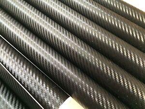 3-x-CARBON-FIBER-Black-Vinyl-Sheet-Sticker-200mm-x-100mm