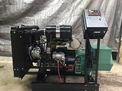 New 35 Kw Generator Isuzu Diesel 4le2x Tier 4 Final 277480 Volt Re-connectable