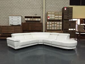 PEARL - BRAND NEW LEATHER LOUNGE Leumeah Campbelltown Area Preview