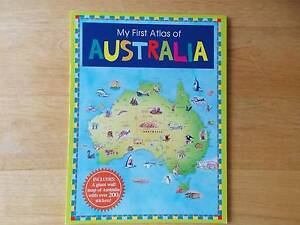 My First Atlas of Australia - including giant wall map & stickers Parkinson Brisbane South West Preview