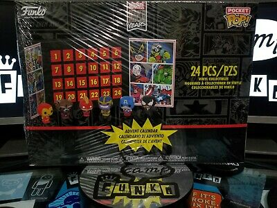 Sealed Funko 2019 24pc Marvel Pocket Pop! Advent Calendar