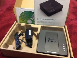 VoIP adaptor - Cisco SPA112