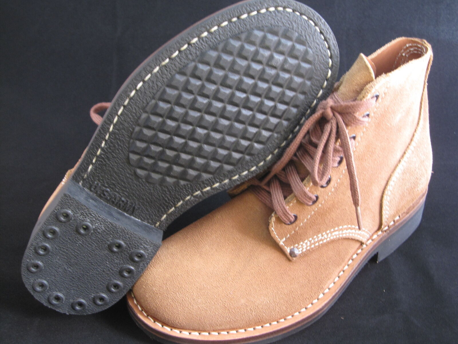 Lutece MFG Co Vintage Boots Rauh Leder Stiefel Rockabilly Steve McQueen Gr 6-13