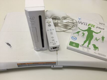 Wii Console with Wii Fit Plus and Wii Fit Board Port Noarlunga Morphett Vale Area Preview