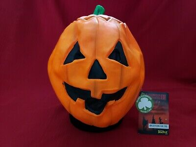 HALLOWEEN III 3 SEASON OF THE WITCH DON POST MAGIC PUMPKIN MASK SILVER SHAMROCK