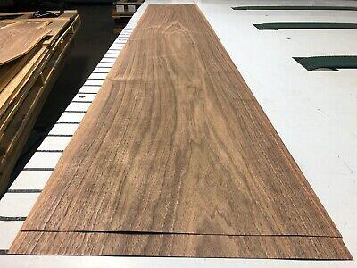 Walnut Wood Veneer 86 X 14 34 2 Sheets 518g