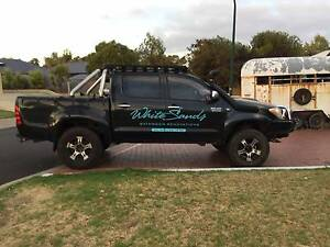2007 Hilux (4WD) DUAL CAB UTE....MAKE ME AN OFFER... Margaret River Margaret River Area Preview